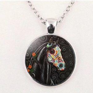 Jewelry - 🧡🖤🧡SUGAR SKULL HORSE 🧡🖤🧡